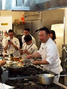 Hooni Kim at Le Cordon Bleu