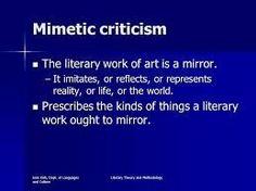 Literaire interpretatie mimetisch...