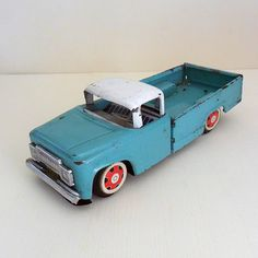 Cool old toy truck