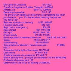 GG Codes