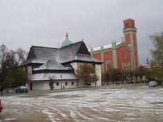 Kezmarock wooden church built 1717