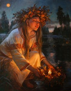 Ivana Kupala = Ancient Women's Summer Solstice Rites of honoring Mother Earth
