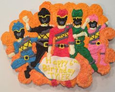 Power Rangers Cupcake Cake 5th Birthday, Birthday Ideas, Birthday Parties, Power Ranger Cupcakes, Power Rangers Mystic Force, Power Ranger Birthday, Party Stuff, Christians, Party Planning