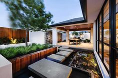 The Modern Azumi Residence by Webb and Brown-Neaves | http://www.caandesign.com/modern-azumi-residence-webb-brown-neaves/