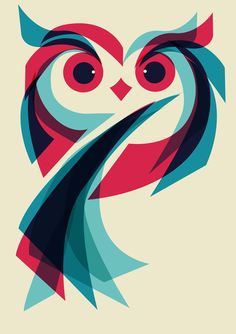 Poster | OWL von Jay Fleck | more posters at http://moreposter.de