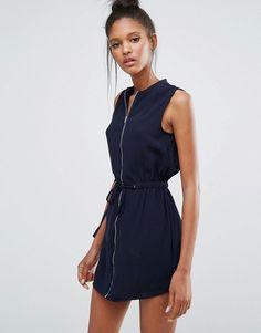 Influence | Influence Zip Front Dress