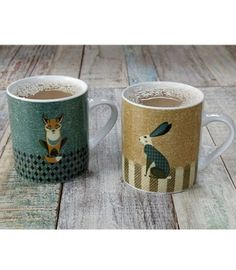 Dusk Wildlife Collection - Really Linda Barker. This adorable collection is so quintessentially British and we love it! Bang on trend too with the popular woodland theme.