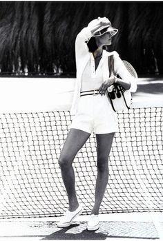 tennis whites classic look