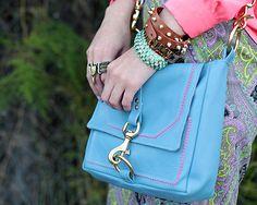 Steel Blue Lucy bag