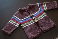 Ravelry: leenez's Boy Sweater I love this color combo!