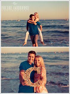 Engaged couple. LOVE. Santa Barbara, CA. Beach walk.  © Nicole Goddard Photography | www.nicolegoddard.com
