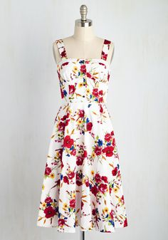 Throw Blossoms to the Wind Dress