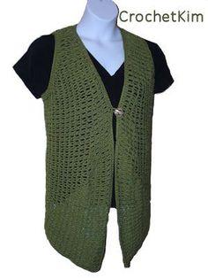 CrochetKim Free Crochet Pattern   Chain Loop Vest @crochetkim