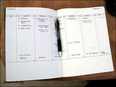 DIY Moleskine Day Planner from Pinspired