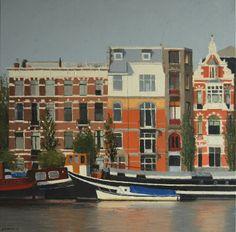 Amstel Amsterdam x 80 cm) by Gineke Zikken Batgirl, Catwoman, Artemis, Amsterdam, Cinema, City, Inspiration, Buildings, Inspire