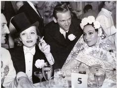 Douglas Fairbanks, Jr. and Marlene Dietrich, Basil Rathbone and Delores Del Rio.
