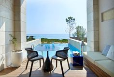 Book your escape at The Romanos, a Luxury Collection Resort, Costa Navarino. Our exclusive Costa Navarino hotel offers luxury accommodations & unmatched experiences. Infinity Room, Luxury Accommodation, Outdoor Furniture Sets, Outdoor Decor, Hotel S, Hotel Offers, Costa, Relax