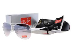 New 2014 Ray Ban Junior Pure White Black Frame Sunglasses