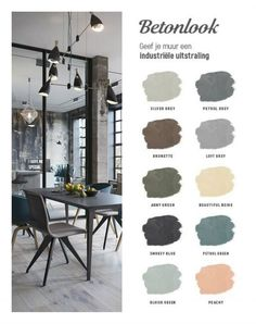 22 Super Ideas For House Little Tiny Living Bedroom Wall Colors, Home Decor Bedroom, Home Living Room, Paint Colors For Home, House Colors, Style At Home, Industrial Interiors, Industrial Living, Industrial Style