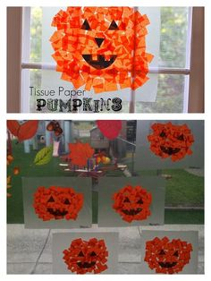 Pumpkin craft - Natalie would love this =)