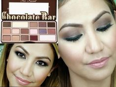 Easy Smoky Eye - ft. Too Faced Chocolate Bar Palette - YouTube