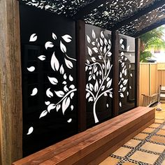 When early with principle, the particular pergola may be encountering a current rebirth these types Pergola Patio, Backyard Patio, Backyard Landscaping, Pergola Screens, Pergola Kits, Backyard Garden Design, Patio Design, Wall Design, Outdoor Walls