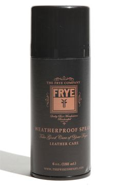 Frye Weatherproof Spray | Nordstrom $9.00 - to protect my boots and leather jacket!