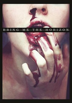 Bloodlust   Bring Me The Horizon Drapeau   EMP