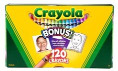 Crayola Crayons with Built In Sharpener 64 ct 64 ct. Crayola Crayons are the classic kids' art tool. They are the colors generations have grown up with. Crayola Crayons are designed with a focus on true color, smoothness, and durability.