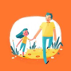 DAD and DAUGHTER on Behance