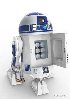 『スター・ウォーズ』R2-D2型の自走式冷蔵庫が12月発売。本日より予約受付開始(動画) - Engadget Japanese