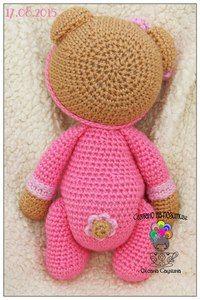 Wall Crochet Bear, Crochet For Kids, Crochet Dolls, Crochet Hats, Yarn Crafts, Sewing Crafts, Knitting Patterns, Crochet Patterns, Fingerless Mitts