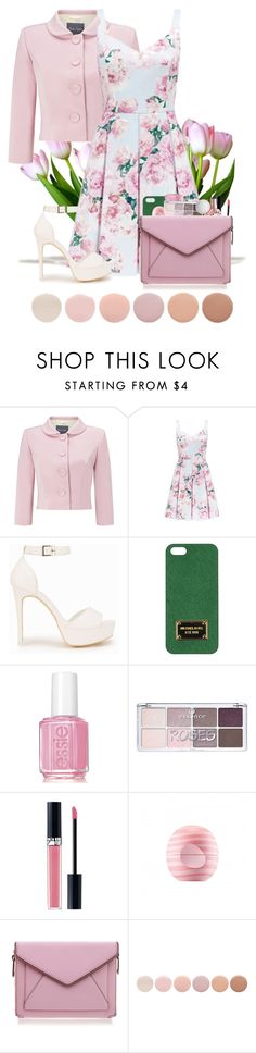 """""""Easter Sunday"""" by mickey733 on Polyvore featuring Phase Eight, Forever New, Nly Shoes, Michael Kors, Essie, Christian Dior, Eos, Rebecca Minkoff and Deborah Lippmann"""