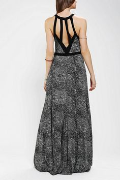 Silence + Noise Fishtail Maxi Dress - Urban Outfitters