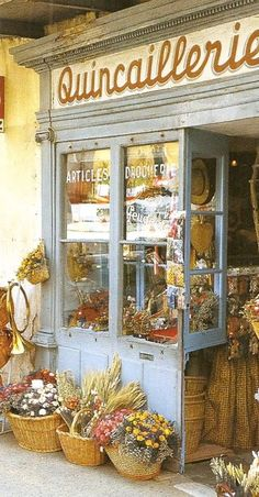 Pretend to be in the movie chocolat for a day in the south of France