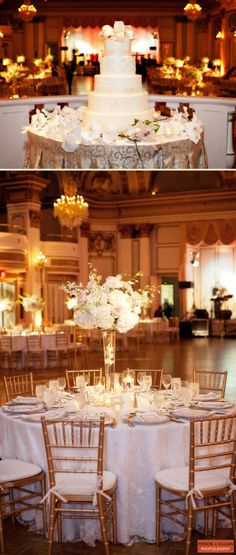 Fairmont Copley Plaza Wedding Amy Kimball Events: A gorgeous wedding in the Grand Ballroom, by Person + Killian Photography.