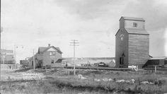Station and elevators, Webb, Saskatchewan. Saskatchewan Canada, North Country, Canada Travel, Historical Photos, Past, Photographs, Places, Image, Beautiful