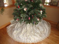 Tree skirts christmas tree skirts and wedding dress train on