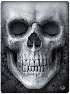 74a56d2f37e4b FLEECE BLANKET Throw SKULL Gothic Biker Punk Metal Alternative Goth