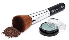 Mineral Foundation Brush - Premium Flat Top Makeup Brush Contours Loose or Pressed Mineral Powders Best Foundation Brush, Mineral Foundation, Mineral Powder, Christmas Makeup, Makeup Techniques, Contours, Makeup Yourself, Makeup Brushes, Highlight
