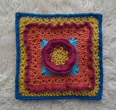 "Frostbloom 12"" Afghan Square Motif By Shan Sevcik - Free Crochet Pattern - (ravelry)"