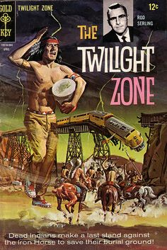 The Twilight Zone Comic #25 Publisher: Gold Key Comics Date: April 1968