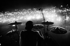 twenty one pilots, Josh Dun Joshua William Dun, Joshua Dun, Twenty One Pilots Concert, August Burns Red, Tyler Joseph Josh Dun, Screamo, We Will Rock You, Black And White Aesthetic, Concert Photography