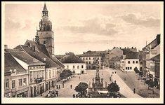 Ivančice-pohled na náměstí 1938 Cathedral, Building, Travel, Viajes, Buildings, Cathedrals, Destinations, Traveling, Trips