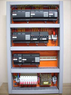Electrical Panel Wiring, Electrical Circuit Diagram, Purple Bedding Sets, Distribution Board, Tiny House Furniture, Electronic Books, Cable Management, Smart Home, Design