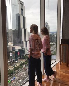 Lisa and Lena instagram post in Seoul