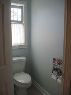 Water closet almost finished...