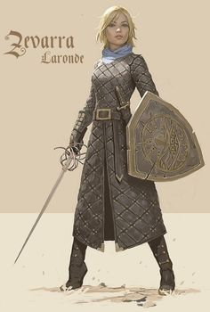D&D character Zevarra Laronde (detail), brought to life by artist Bob Kehl Fantasy Character Design, Character Concept, Character Inspiration, Character Art, Fantasy Inspiration, Dnd Characters, Fantasy Characters, Female Characters, Fantasy Armor