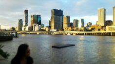 Chillin' by South Bank's river, Brisbane.