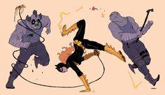 Bat dancing by f1x-2
